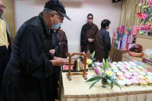 加入失明人佛教會後,Paul積極參加活動(圖:香港失明人佛教會)。